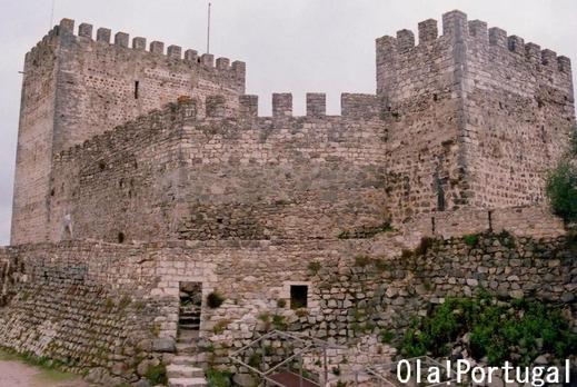 ポルトガルの城:Castelo de Leiria レイリア城