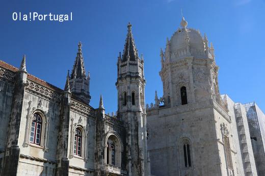 ポルトガルの世界遺産:ジェロニモス修道院