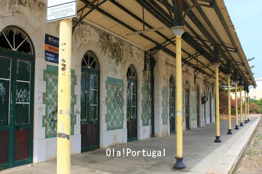 ポルトガルの車窓から:旧ラゴス駅駅舎