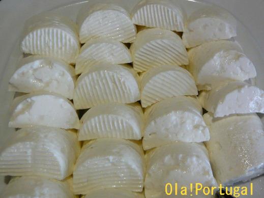 ポルトガルのチーズ:Queijo Fresco ケイジョ・フレスコ