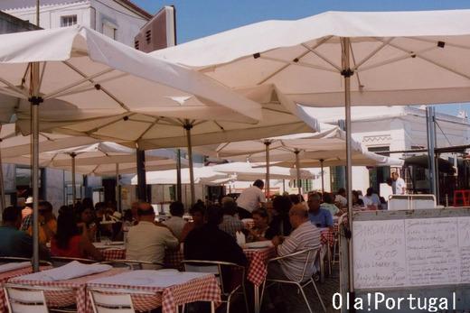 「レトロな旅時間ポルトガルへ」に登場の海鮮レストラン
