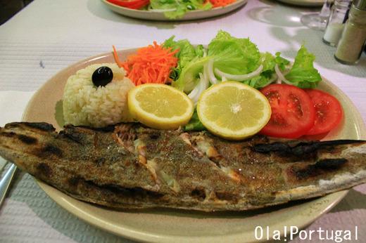 ポルトガル料理:Linguado Grelhado リングアード・グリリャード