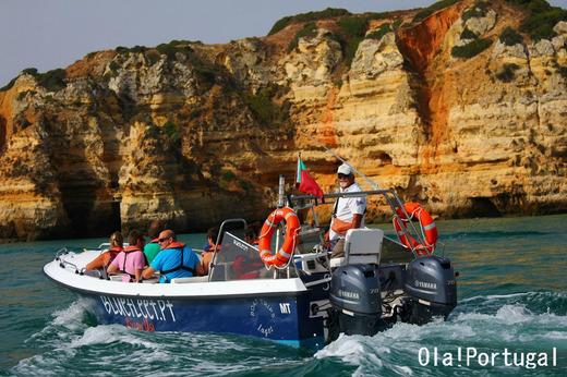 ポルトガル・アルガルヴェの旅:ラゴスのボートツアーに行ってきた