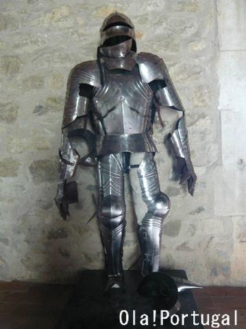中世の甲冑(ポルトガル)