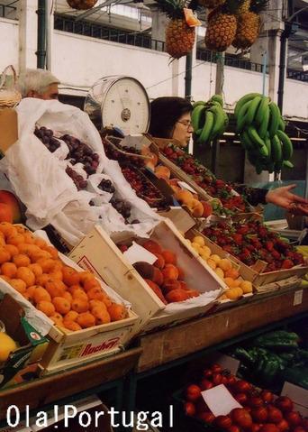 リスボンの台所:市場で買いだし