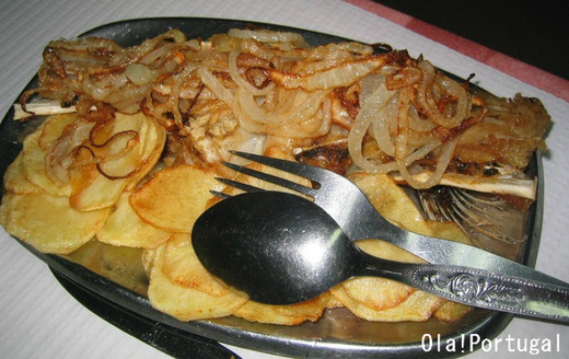 ポルトガル料理:Bacalhau a Casa 当店のバカリャウ料理