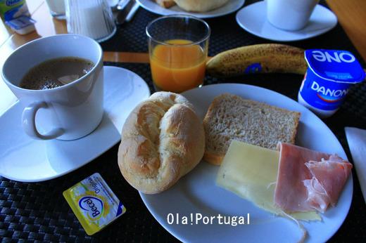 ポルトガル旅行記:タヴィラのホテルの朝食