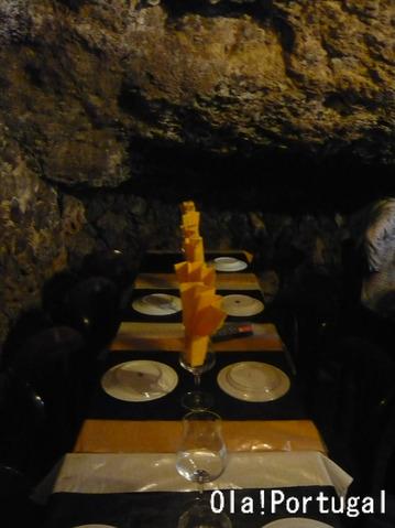 リスボンの美味しいレストラン:洞窟レストラン