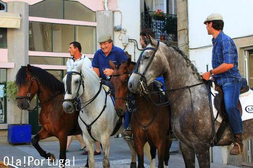 ポルトガル、田舎のお祭り(ポンテ・デ・リマ)