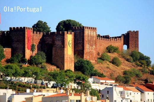 ポルトガル古城巡りの旅:シルヴェス城