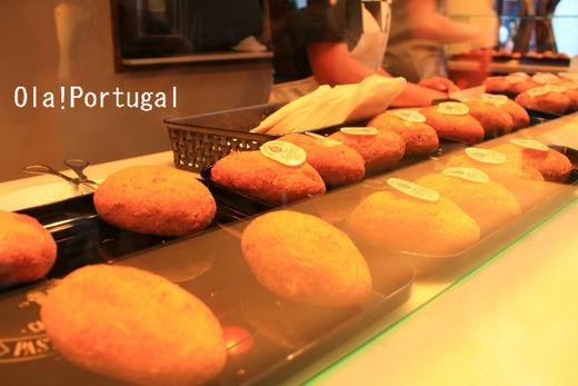 Pasteis de Bacalhau com quejo:チーズ入り干しタラのコロッケ