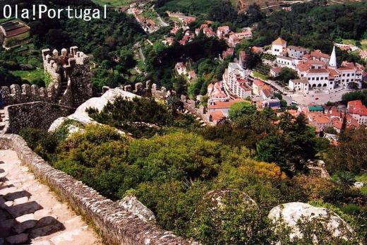 ポルトガル旅行記:シントラ(ムーアの城跡)