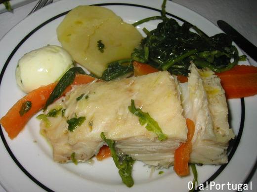 ポルトガル料理:Bacalhau Cozido バカリャウ・コジード