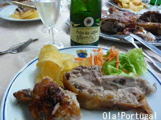 メアリャーダの郷土料理:Leitao assado レイタオン・アサード