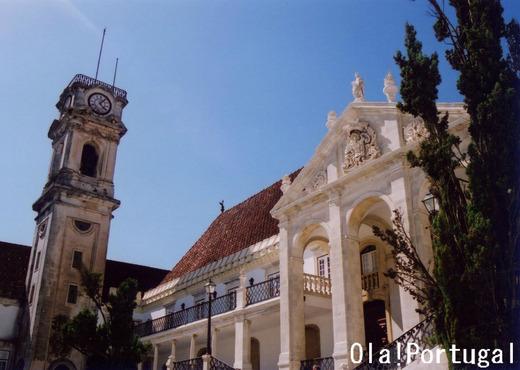 2013年にユネスコ世界遺産に登録されたコインブラ大学
