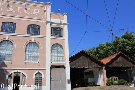 Museu do Carro electrico ポルトの市電博物館