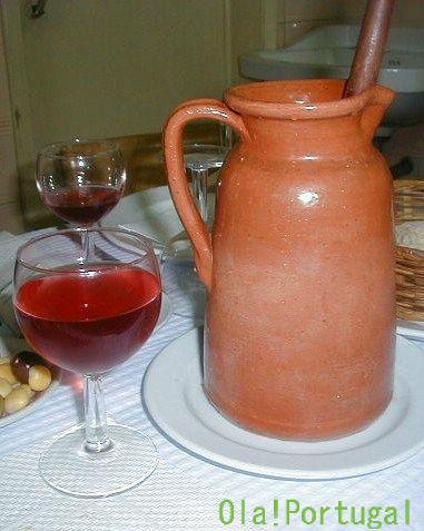 ポルトガル料理:サングリア Sangria