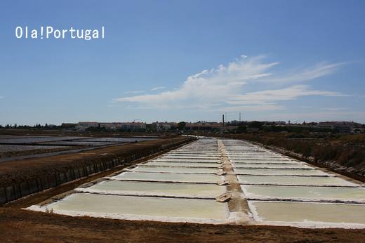 ポルトガルの塩田:アルガルヴェ地方