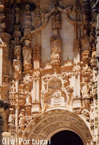 ポルトガルの世界遺産:トマールのキリスト修道院