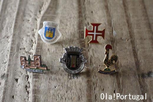 ポルトガル土産:ピン・コレクション