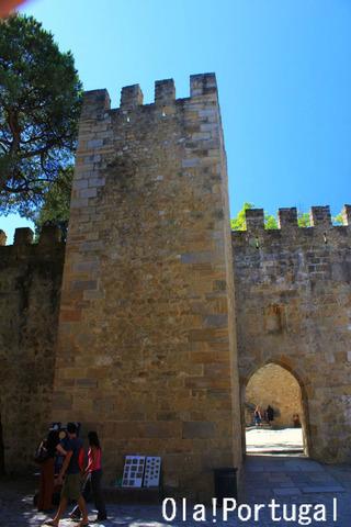Castelo de Sao Jorge カステロ・デ・サン・ジョルジェ