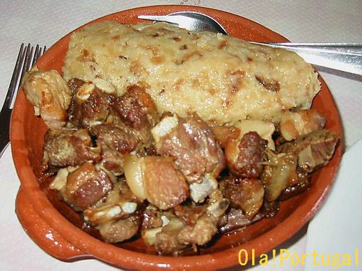 ポルトガル料理:Migsa de Porco ミーガッシュ・デ・ポルコ