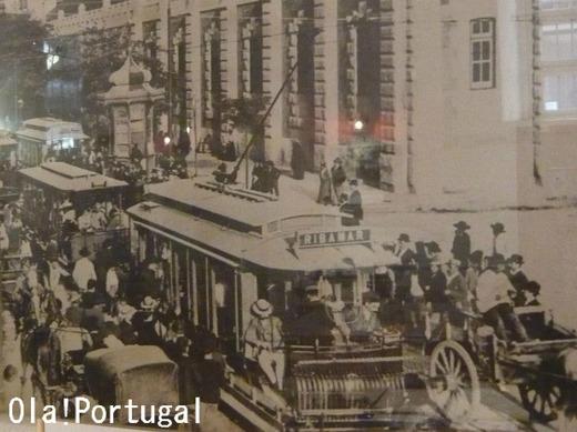 リスボンの古い写真(市電)