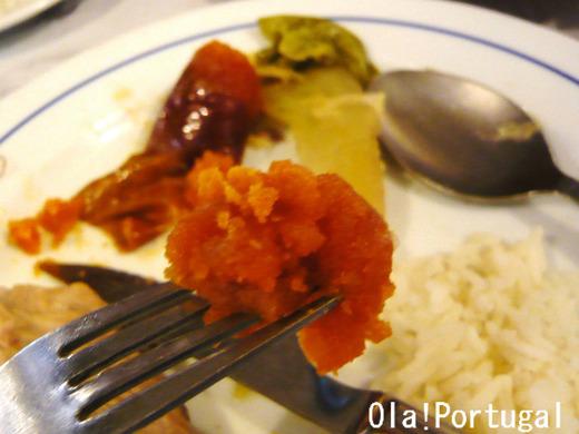 ポルトガル料理:Chourico チョリッソ(豚の腸詰料理)