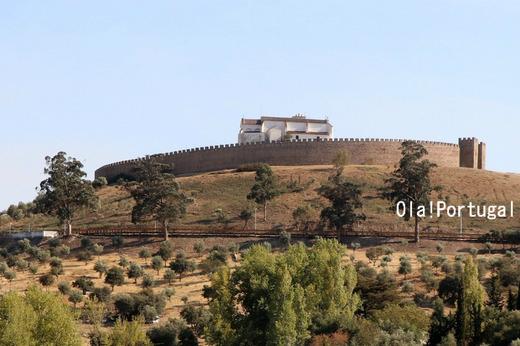 アライオロスのポザーダからのアライオロス城