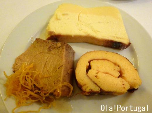 ポルトガルのお菓子:チーズケーキ、イチジクプリン、タルト