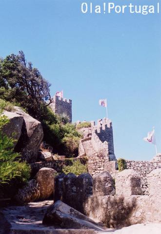 ポルトガル古城巡り:ムーアの城跡