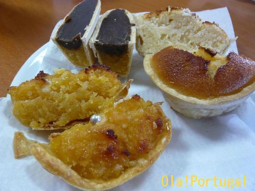 ポルトガルのお菓子:ケイジャーダ