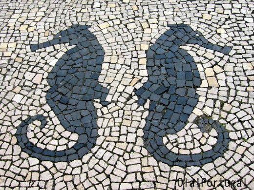 ポルトガル旅行記:アヴェイロの石畳