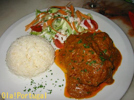 ポルトガル料理:Caril カリール(カレー)