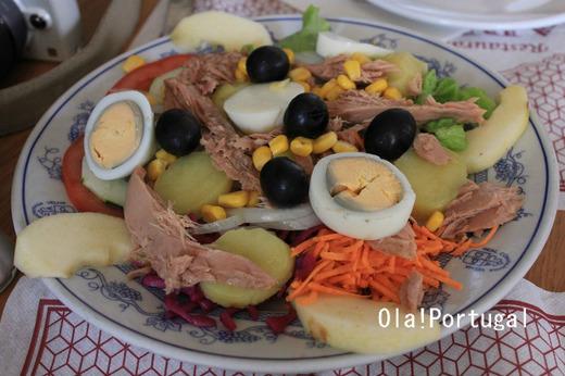 ポルトガル料理:Salada de Atum