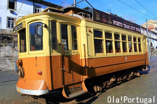 ポルトのレトロな路面電車22番線に乗ってみた