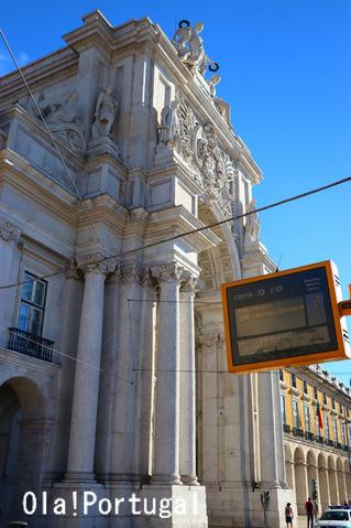 ポルトガル旅行記:リスボン(勝利のアーチ)