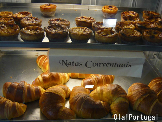 ポルトガルのお菓子:Nata ナタ(エッグ・タルト)