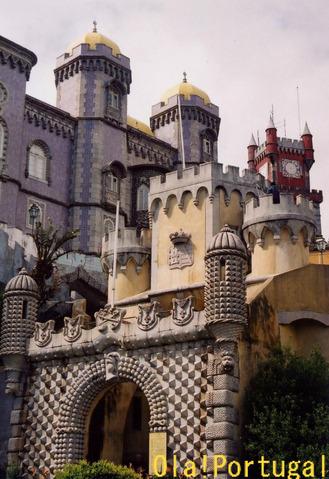 ポルトガル旅行記:シントラ(ペーナ宮)