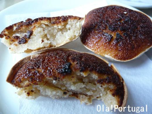シントラのお菓子:Queijada ケイジャーダ(チーズのお菓子)