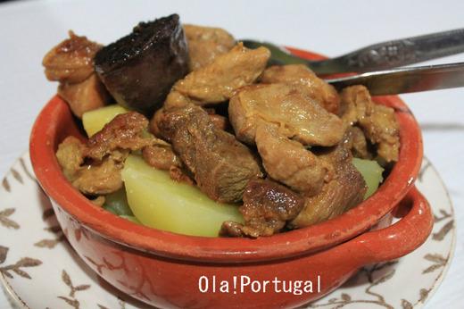 ポルトガル料理:Rojoes com Morcela