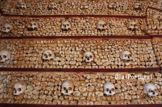 ポルトガルに3ヶ所ある人骨堂:(3)エヴォラ