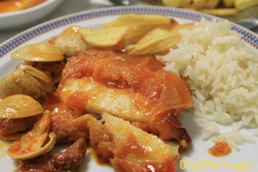 ポルトガル料理:Filetes de pescada フィレテス・デ・ペスカーダ