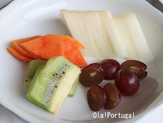 ポルトガルのポザーダの朝食