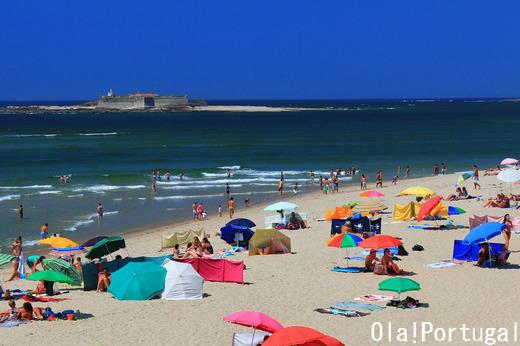 ポルトガルのビーチリゾート:カミーニャ