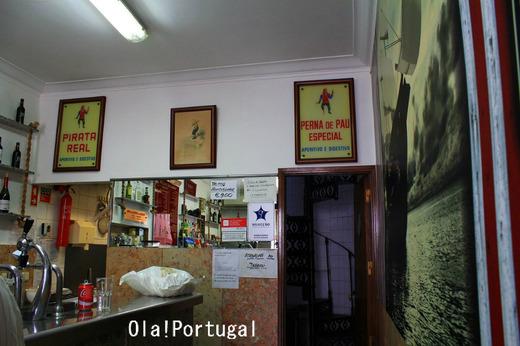 """リスボンの老舗""""海賊カフェ"""" Bar Pirata"""