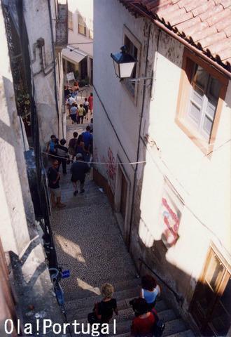 コインブラの旧市街をぶらり街歩き