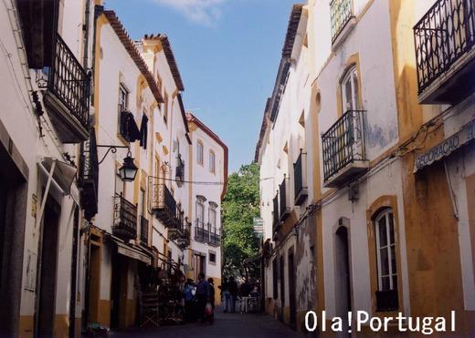 世界街歩き:ポルトガル・エヴォラ(10月5 日通り)