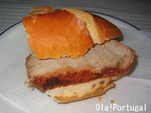 ポルトガル豚肉バーガー:ビッファーナ