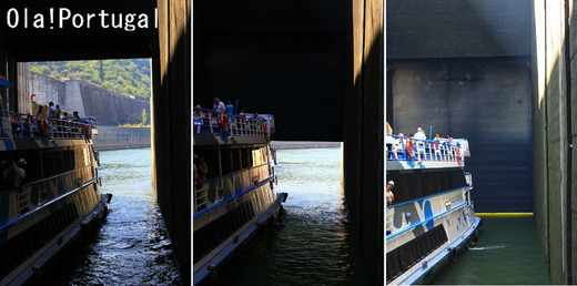 ドウロ川クルーズ:第3のダム超え
